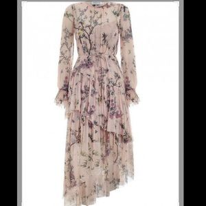 Nwot zimmermann bowbird tier silk dress